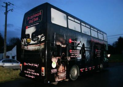 Vehicle Wrap – Ghost Bus