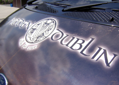 Vehicle Branding – Visit Dublin