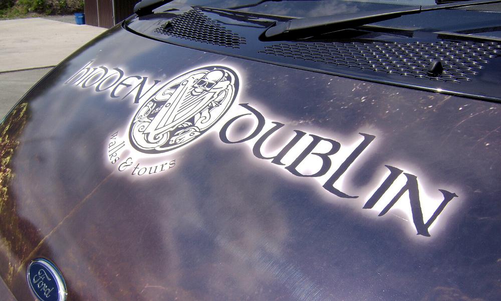 Vehicle Branding – Visit Dublin