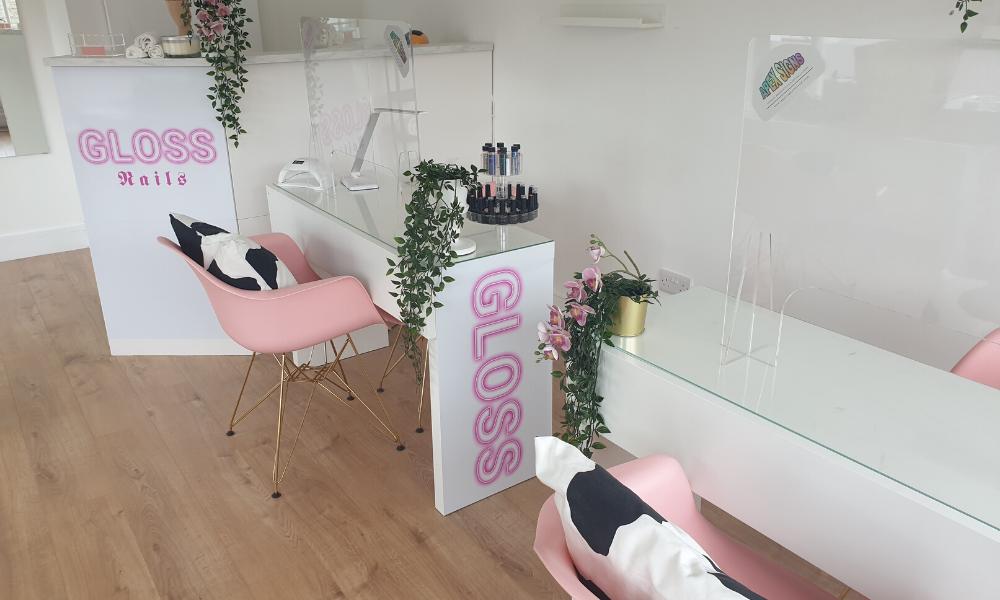 Nail Salon Covid Screen