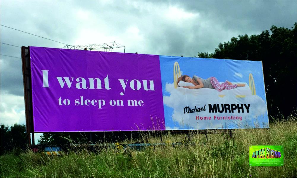 Banner-Michael-Murphy-40foot-x-12ft